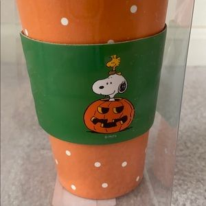 Peanuts Other - Peanuts Snoopy and Woodstock travel mug